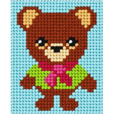 Canvas kit Teddy Bear