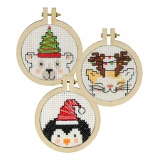 Christmas tree decorations: 3 pcs