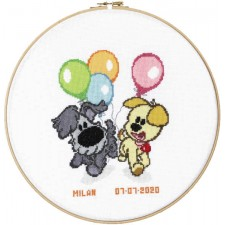 Woezel and Pip birth record balloons