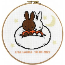 Croo Stitch Kit Miffy Nina: Lisa-Laura