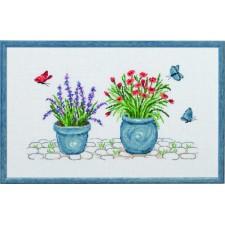 Lavender & carnation