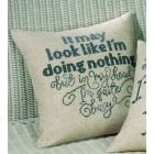 Cushion Quite Busy