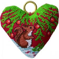 Squirrel in heart