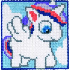 Childrens canvas kit Unicorn