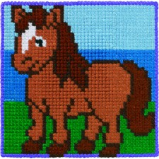 Childrens canvas kit Horse