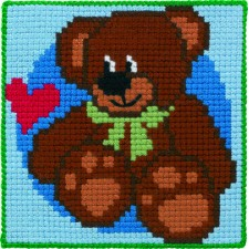 Childrens canvas kit Teddy