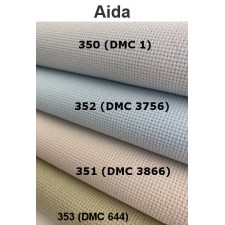 Aida 6,4 st/cm amazing grey