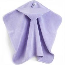 Bathtowel with hood pale lilac