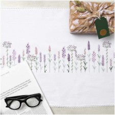 Tablerunner LAVENDER FIELD KIT