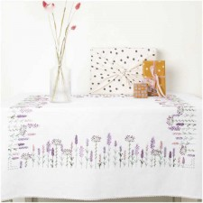Tablecloth LAVENDER FIELD KIT