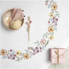 Tablecloth SUMMERFLOWER WREATH KIT