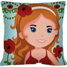 Cushion Kit Poppy Lady
