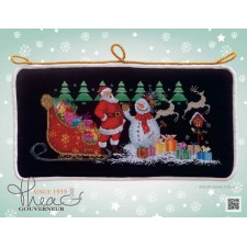 Cross Stitch Kit Santa Claus