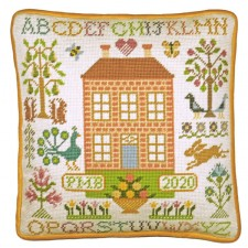 Petit Point stitch kit Bothy Design - Orchard House Tapestry - Bothy Threads