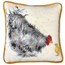 Cross stitch kit Hannah Dale - Mother Hen Tapestry - Bothy Threads