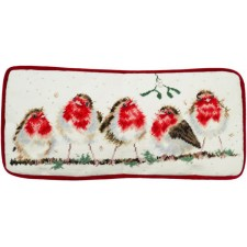 Petit Point stitch kit Hannah Dale - Rockin' Robins Tapestry - Bothy Threads