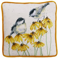 Petit Point stitch kit Hannah Dale - Chitter Chatter Tapestry - Bothy Threads