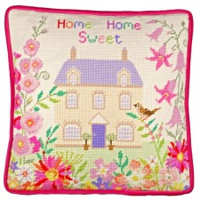 Petit Point stitch kit Sarah Summers - Home Sweet Home Tapestry - Bothy Threads