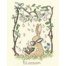 Cross stitch kit Anita Jeram - Blossom - Bothy Threads