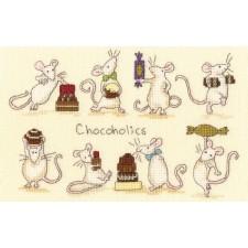 Cross stitch kit Anita Jeram - Chocoholics - Bothy Threads