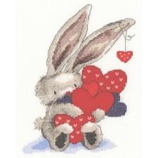 Cross stitch kit Bebunni - Whole Lot of Love - Bothy Threads