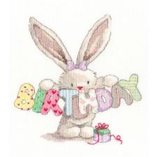 Cross stitch kit Bebunni - Bebunni - BIRTHDAY - Bothy Threads