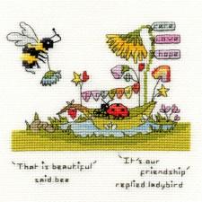 Cross stitch kit Eleanor Teasdale - Beautiful Friendship - Bothy Threads