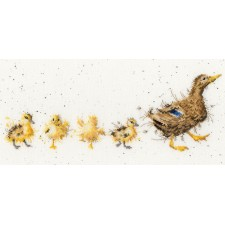 Cross stitch kit Hannah Dale - Mother Duck - Bothy Threads