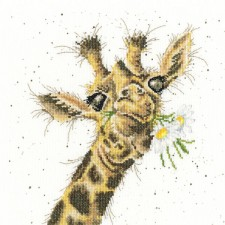Cross stitch kit Hannah Dale - Thanks A Bunch - Bothy Threads