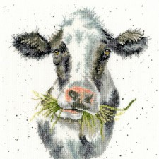 Cross stitch kit Hannah Dale - Milk Maid - Bothy Threads