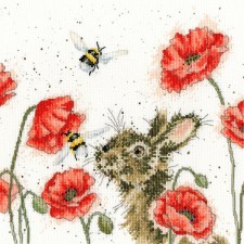 Cross stitch kit Hannah Dale - Let It Bee - Bothy Threads