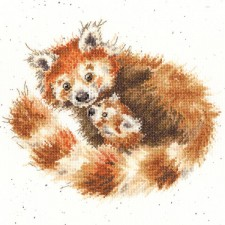 Cross stitch kit Hannah Dale - Tree Hugger  - Bothy Threads