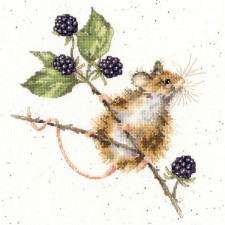 Cross stitch kit Hannah Dale - Brambles - Bothy Threads