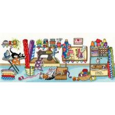 Cross stitch kit Julia Rigby - Sewing Fun - Bothy Threads