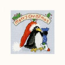 Cross stitch kit Margaret Sherry - PPP Please Santa - Bothy Threads