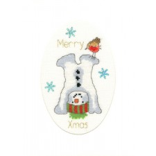 Cross stitch kit Margaret Sherry - Frosty Fun - Bothy Threads
