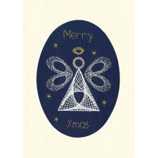 Cross stitch kit Bothy Designs - Christmas Angel - Bothy Threads
