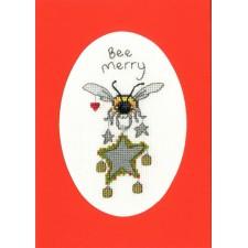 Cross stitch kit Eleanor Teasdale - Bee Merry - Bothy Threads