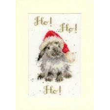 Cross stitch kit Hannah Dale - Ho! Ho! Ho! - Bothy Threads