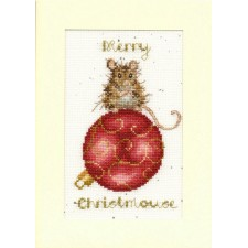 Cross stitch kit Hannah Dale - Merry Christmouse - Bothy Threads