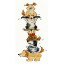 Cross stitch kit Margaret Sherry - Top Dog - Bothy Threads