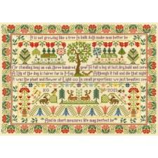 Cross stitch kit Moira Blackburn - Oak Tree - Bothy Threads