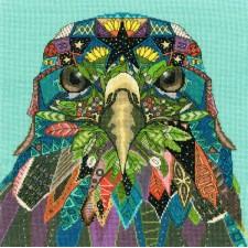 Cross stitch kit Sharon Turner - Jewelled Eagle - Bothy Threads