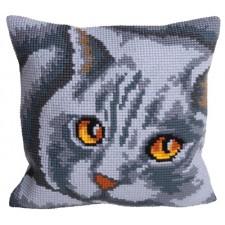 Cushion cross stitch kit Persane - Collection d'Art