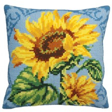 Cushion cross stitch kit Zénith - Collection d'Art