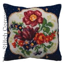 Cushion cross stitch kit Meissem Droite - Collection d'Art