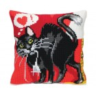 Cushion cross stitch kit Reload - Collection d'Art