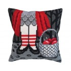 Cushion cross stitch kit Sweets - Collection d'Art