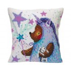 Cushion cross stitch kit In the Unicorn's Suit  - Collection d'Art