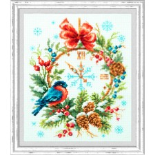 Cross stitch kit Christmas Time